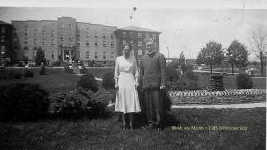 Martin & Rhoda at Eastern Mennonite School