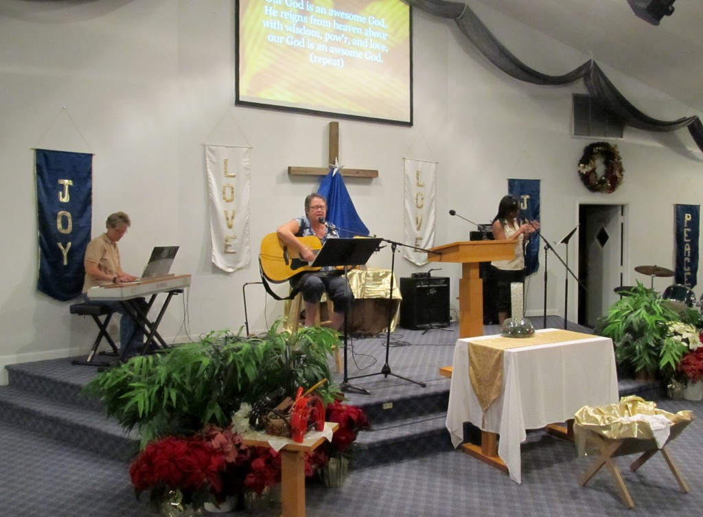 Worship Team in Practice, 2013