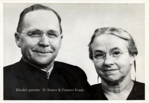 Stoner and Frances Krady - Rhoda's parents