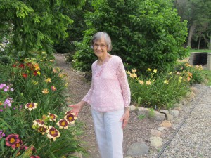 """""""JOY"""" AND I VISITED A GARDEN"""