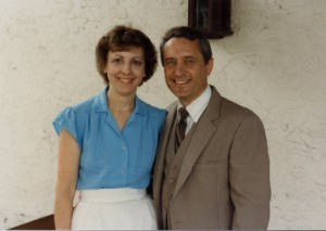 Mary Grace and Harold Shenk
