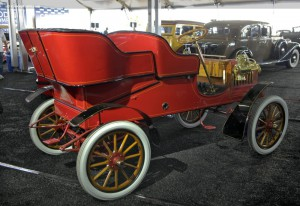 1904 Ford Model C; the Model T came a few years later.