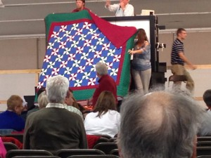 A quilt on sale