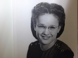 Joyce as a High School graduate