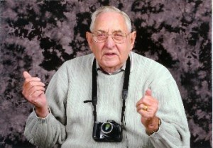 This 90 yr. old traded ham radio for a camera. It is not me.